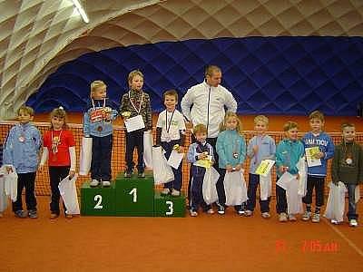 Oceněni byli nejen vítězi turnaje, ale i ostatní malí bojovníci.