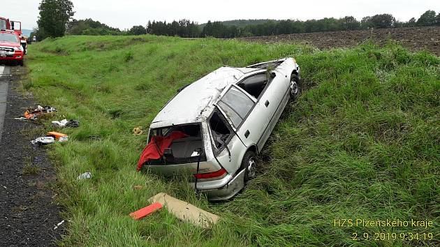 Nehoda u Mochtína.
