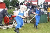 SDH Nalžovské Hory uspořádal v úterý 5. 7. zábavnou soutěž pro děti, ženy i dospělé. Předcházelo jí žehnání novému vozu