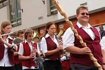Švihovské hudební léto 2009 - průvod městem