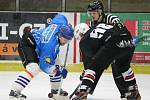 Šumavská liga amatérského hokeje: AHC Gladiators (černé dresy) - HC 2009 Nýrsko 11:3