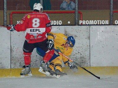Hokejisté SHC Maso Brejcha Klatov v utkání šestnáctého kola druholigové skupiny podlehli hostům z HC ZVVZ Milevsko 2:3.