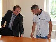 Soud s Vladimírem Pliskou, který se vydával za hokejistu Davida Stacha.