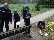 Soutěž mladých hasičů v Horažďovicích.