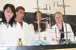 Sto let chemie na klatovském gymnáziu