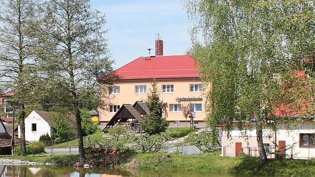 Kulturní dům a restaurace v Bolešinech