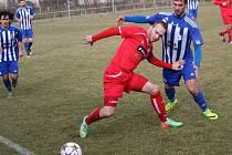 Příprava na jaro 2017: SK Klatovy 1898 (červené dresy) - TJ Jiskra Domažlice 0:4