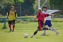 Fotbal Horažďovice B (bílé dresy) - Neznašovy 0:2