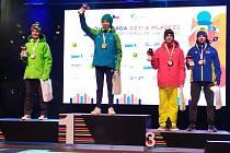 Karatisté z Klatov se na zimní olympiádě dětí a mládeže neztratili.