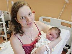 David Petráš ze Sušice (3620 g, 52 cm) uviděl světlo světa v klatovské porodnici 23. října v 11.03 hodin. Maminka Lucie a tatínek Marek přivítali svého prvorozeného syna na svět společně.