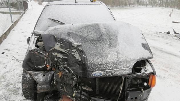 Nehoda u Boříkov.