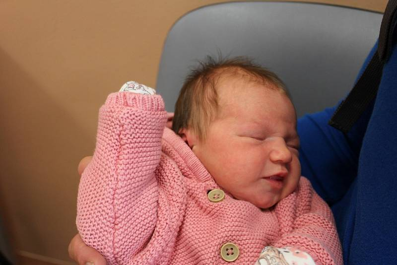 Markéta Horová zNepomuka (3900 g, 52 cm) poprvé zakřičela na svět vklatovské porodnici 17. září ve 14:00 hodin. Maminka Lucka a tatínek Karel dopředu věděli, že jejich prvorozeným miminkem bude holčička.