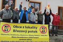 Den proti úložišti v Kvášňovicích.