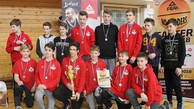 Easter Cup v Klatovech 2018 - finále hochů U14 a vyhlášení