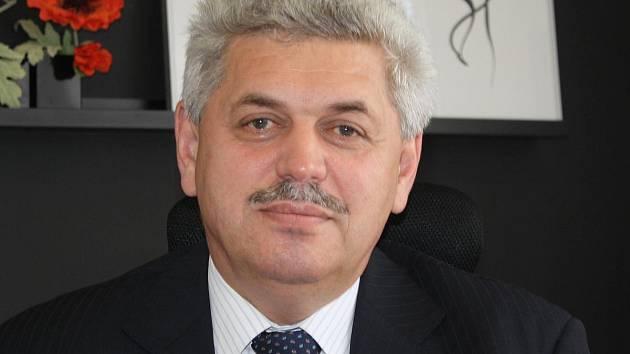 Ředitel Klatovské nemocnice František Lešundák