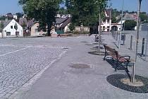Opravené strážovské náměstí