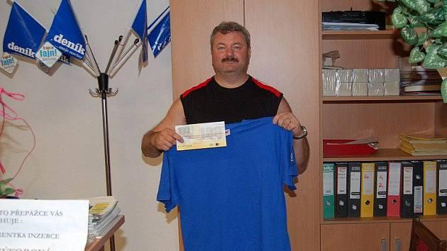 Vítězem dvanáctého kola Fortuna ligy se stal Josef Trojan z Mochtína