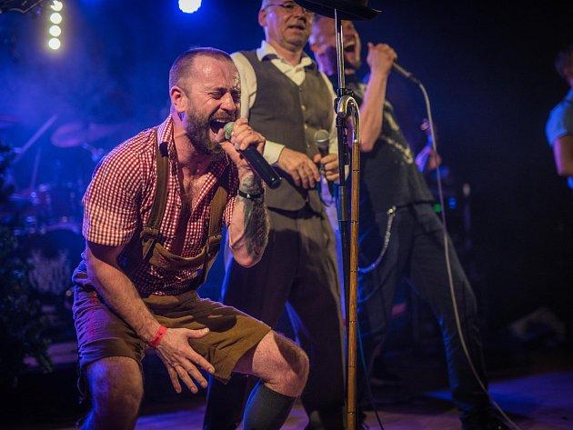 Hudební festival OBRfest Klatovy Satisfucktion Malignant Tumour Trautenberk