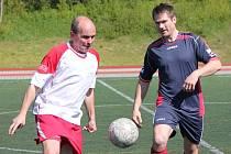 Klatovská Kapitol liga: Draci Klatovy (bílé dresy) - AFK Geroj 3:11