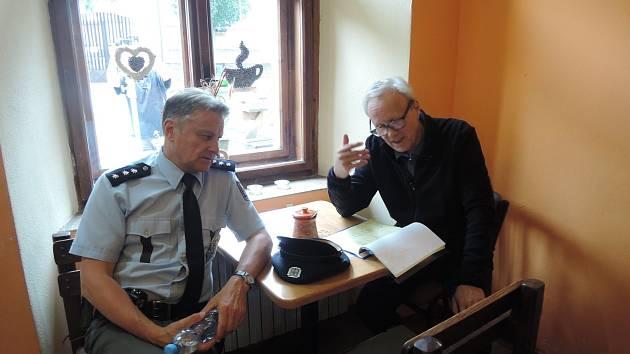 Natáčení třetí řady Policie Modrava.