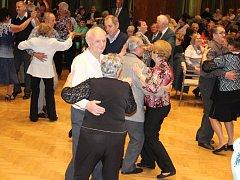 Ples seniorů v Klatovech.