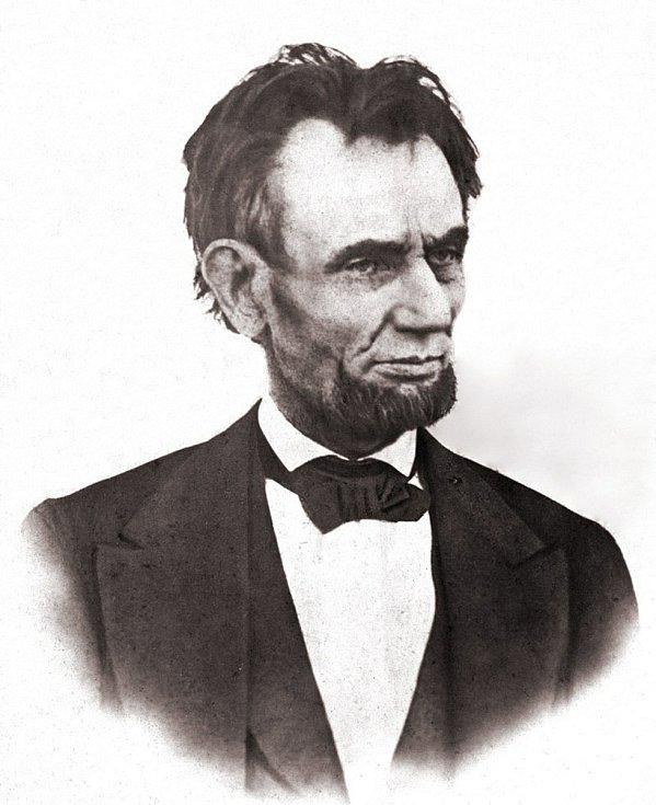 Americký prezident Abraham Lincoln. Foto: archiv rodiny Holých