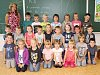 Žáci 1. C ze ZŠ Sušice, Lerchova ulice s třídní učitelkou Veronikou Hušákovou.