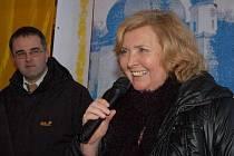 Novinářka Lída Rakušanová