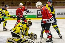 6. kolo druhé ligy (skupina Jih): SHC Klatovy - HC Kobra Praha 3:9.