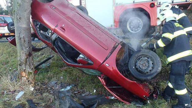 Dopravní nehoda u Petroviček