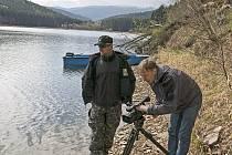 Záchranáři natáčeli na Klatovsku