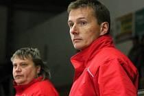 Trenéři Klatov Vostřák (vpravo) a Mužík tentokrát důvod k radosti neměli.