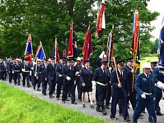 V Pačejově slavili hasiči 110 let.