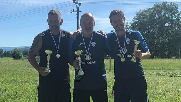 První klatovský turnaj ve fotbalgolfu vyhrál Tomáš Toth.