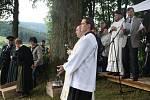 Jízda sv. Linharta v Uhlišti 2012