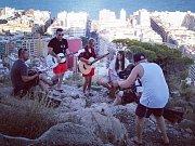 Adys s kapelou ve Španělsku. Foto: archiv