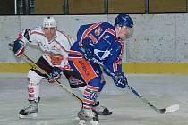 Druholigoví hokejisté SHC Klatovy prohráli doma s Litoměřicemi v prodloužení