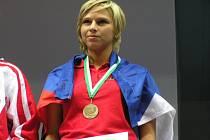 Alena Holá přivezla do Nýrska zlatou medaili