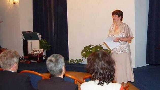 Zahájení výstavy Z historie knihovny v Klatovech