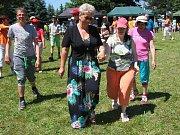 Sportovní den v domově pro osoby se zdravotním postižením v Bystřici nad Úhlavou.