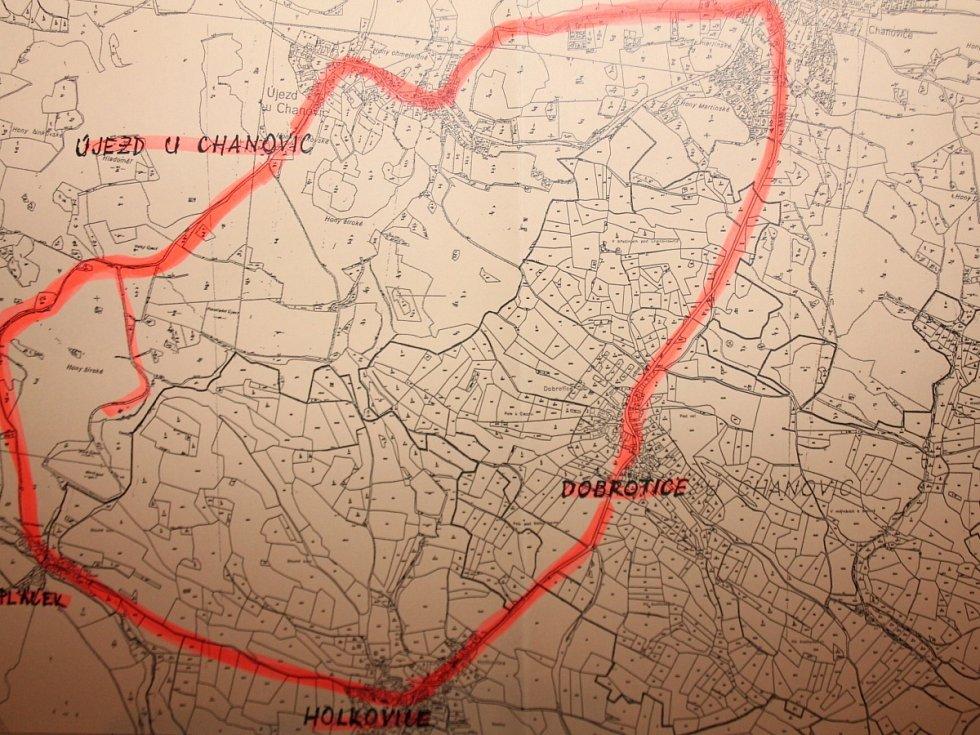 Pochod ohroženou krajinou v Chanovicích
