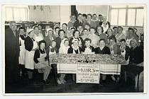 Kurz medového pečiva v roce 1956.