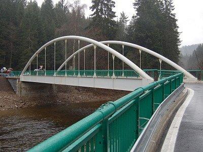 Slavnostní otevření nového mostu v Anníně