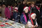 Předvánoční trh ve Vrhavči na Klatovsku.