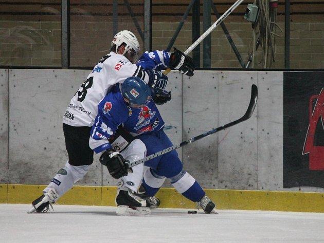 II. liga SHC Klatovy - HC Tábor 3:1.