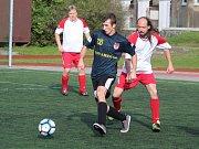 Zápas Kapitol ligy Red Dogs (modří) - Draci Klatovy.