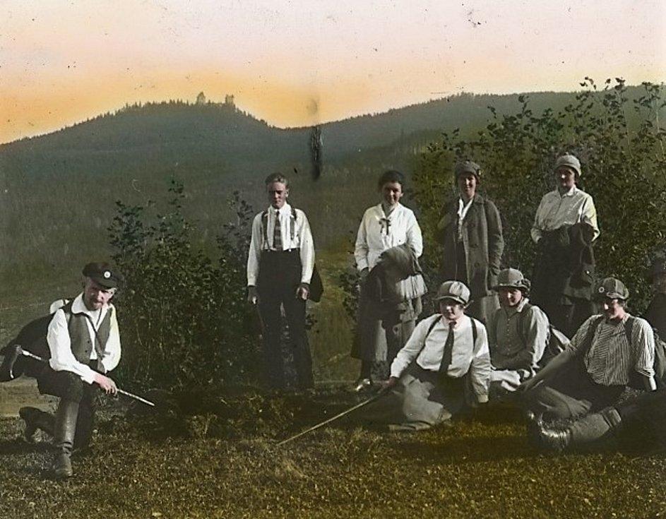 Historie Kašperskohorska.