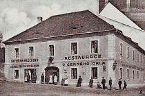 Restaurace U Černého orla v Chudenicích.