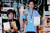 Aneta Mastná z Hammers gym Běhařov se stala mistryní republiky v lightcontactu
