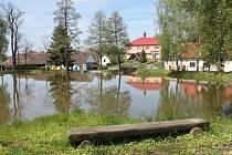 """Rybník """"Plzenčák"""" v Bolešinech"""